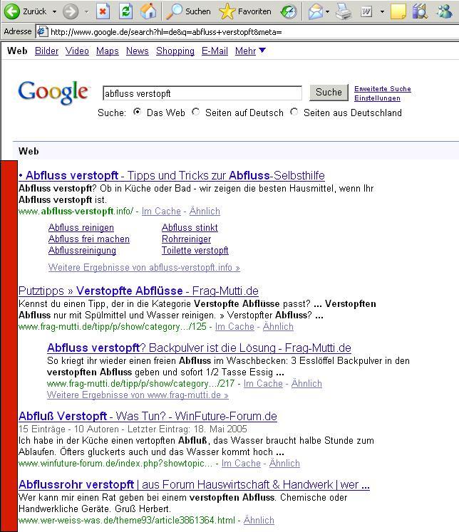 Google-rückt-Suchergebnisse-nach-rechts-ein