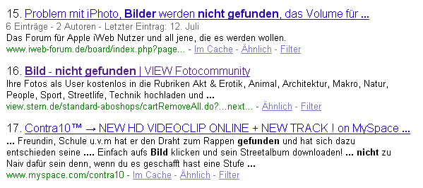 VIEW-Aboshop bei Google
