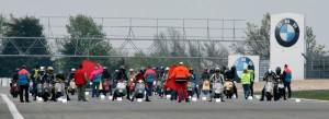 Start zum Vesparennen Nürburgring