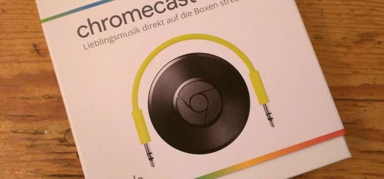 Chromecast Audio 2015 – Unboxing, Testbericht und Fotos