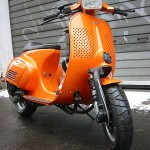 Vespa 153N in orange